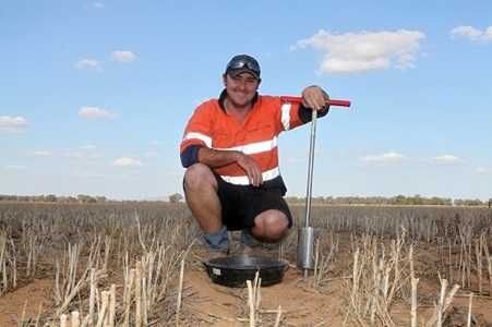 Scott Ceeney, Senior Agronomist for Hassad Australia, is using soil testing as part of a massive precision agriculture project on a range of properties across Australia.