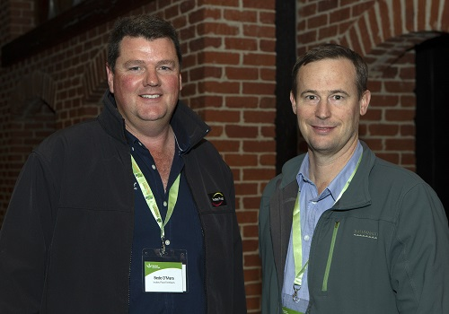 Bede O'Mara from Incitec Pivot Fertilisers met with Gavin Peck from QDAF who spoke about the rundown in phosphorus in Queensland's brigalow belt at the Agronomy Community forum in Brisbane.